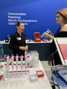 First impression from prize - Andela Dordic 2 place winner of Formula-X 2019 Dusseldorf Pipetting Skills Contest