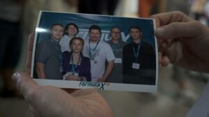 Group photo of participants for memories at Formula-X Lviv 2019 Race
