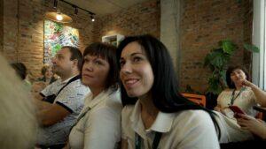 Participants are watching Formula-X Lviv 2019 Races