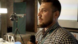 Yuriy Stetsyna at Formula-X Lviv 2019 Race pipetting skills contest